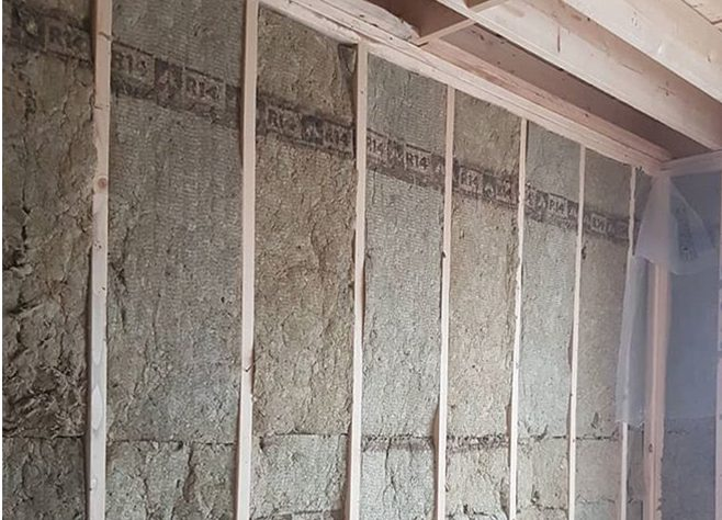 Insulation and T-bar