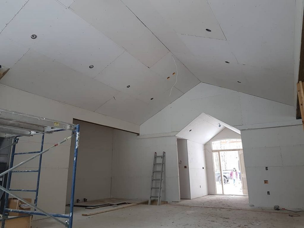 drywall installation Milton