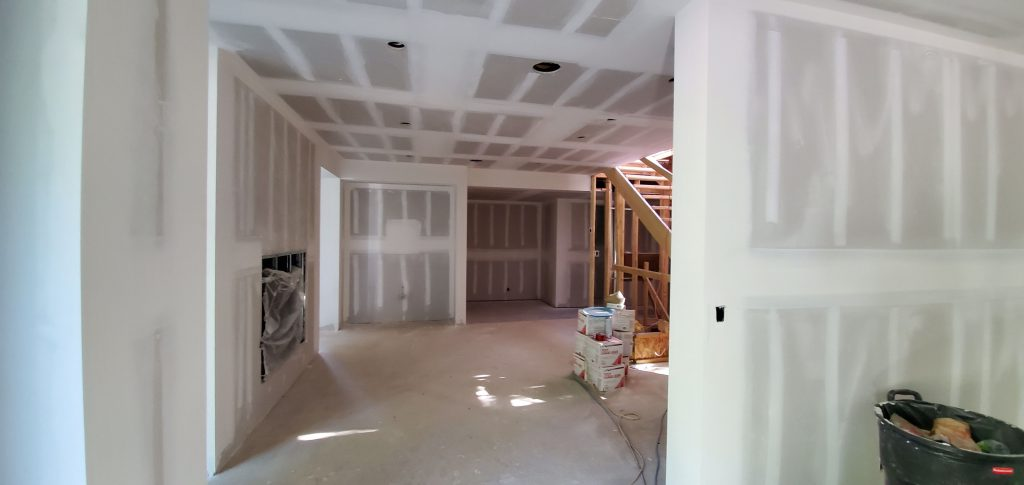 basement dry wall and ceiling installation GTA - drywall contractors toronto