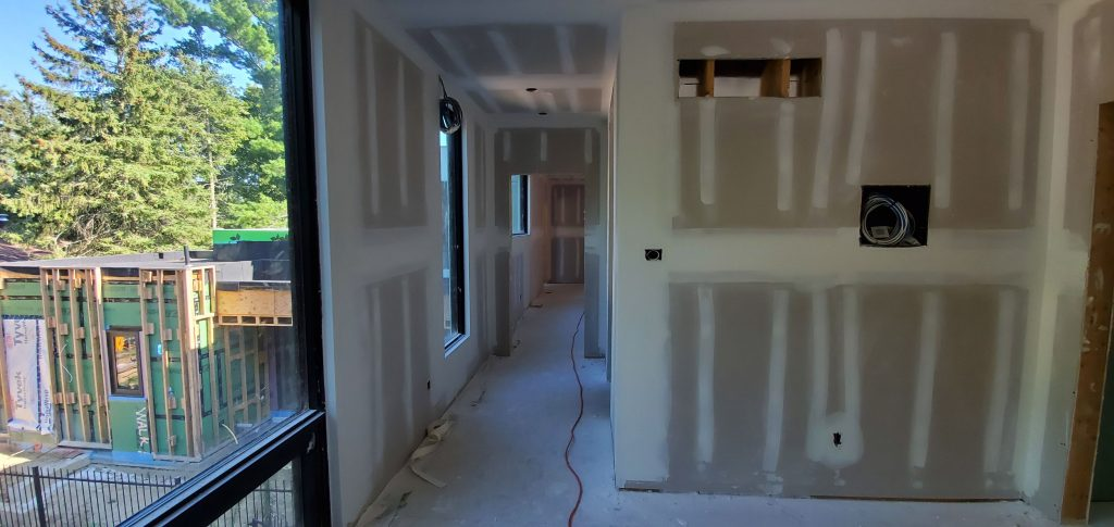 second floor finished drywall by carsie drywall toronto