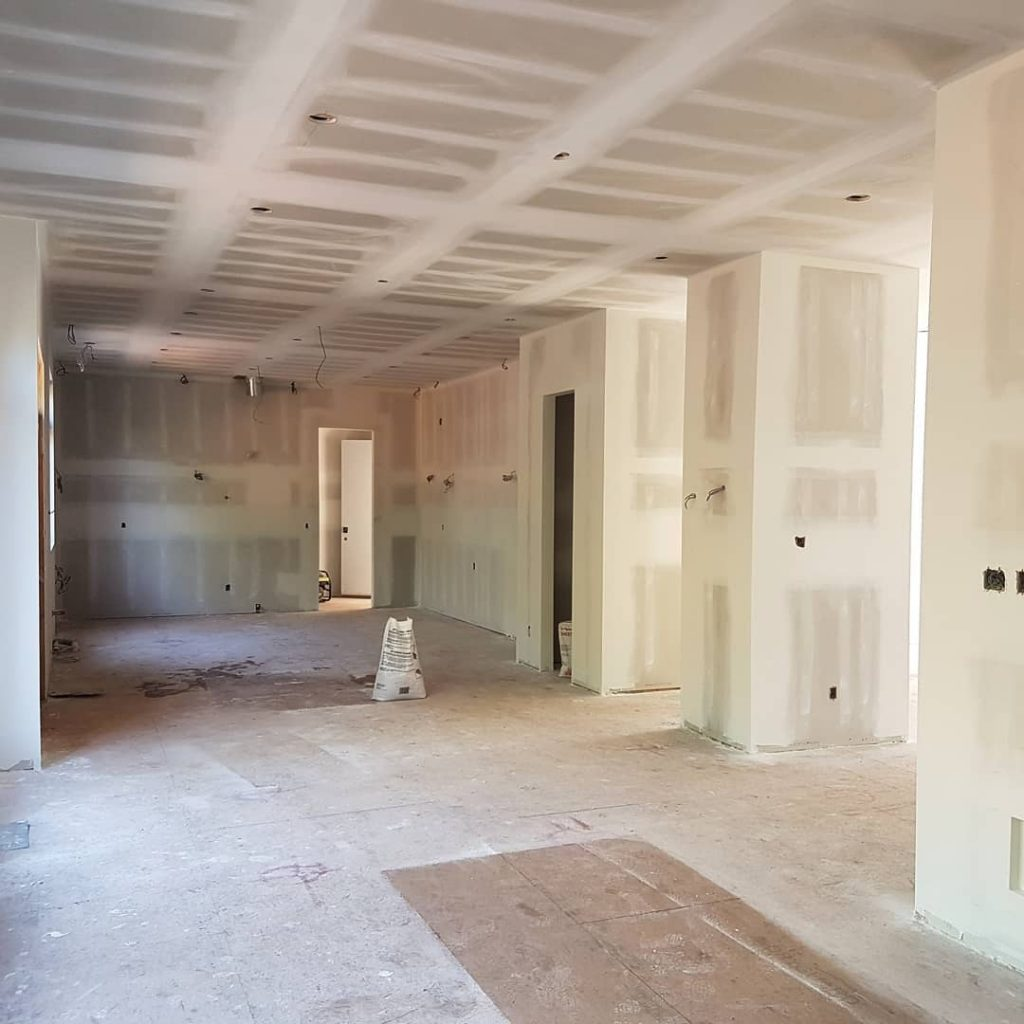 drywall preparation for painting -  how to drywall