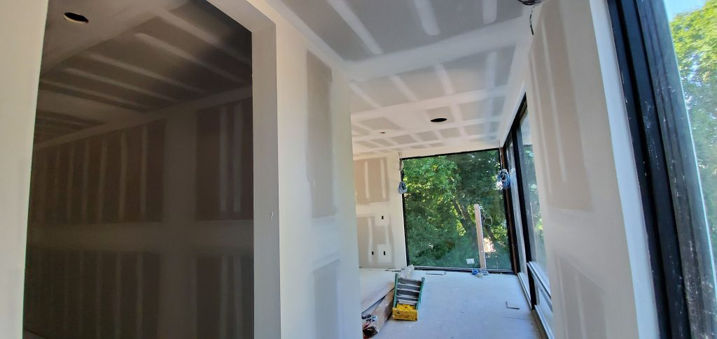 new home with second floor drywall finishing by carsie drywall toronto