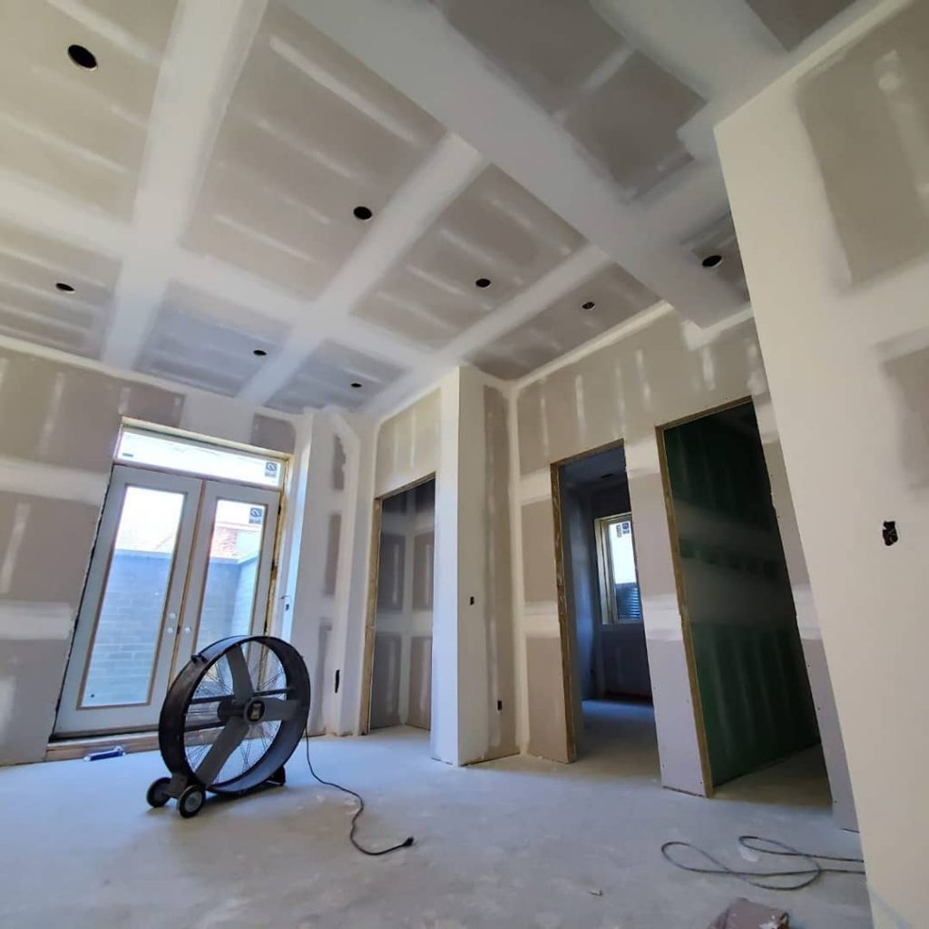 drying drywall sealing after installation - carsie drywall company