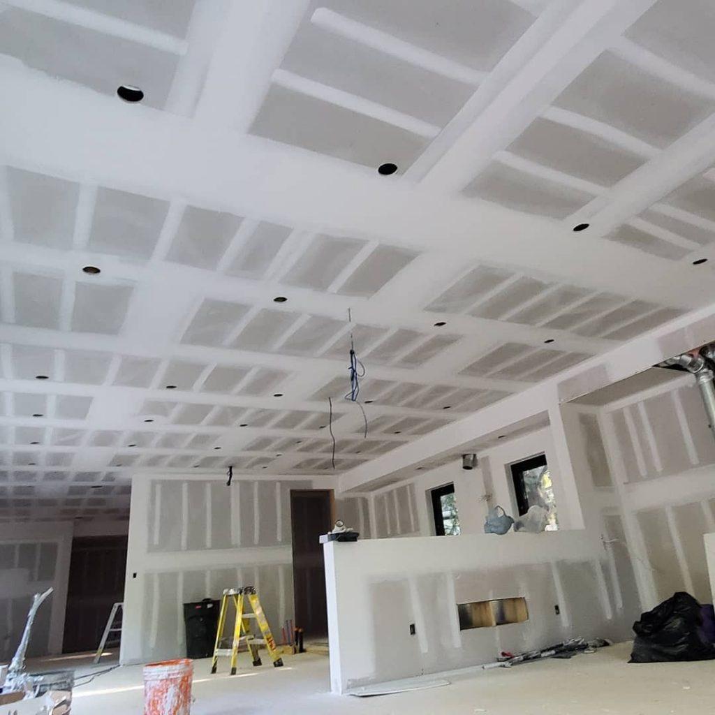 drywall replacement in custom home aurora - drywall repair