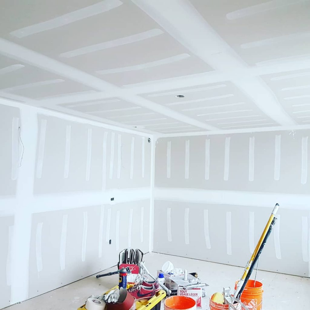 markham custom home with new drywall - install drywall