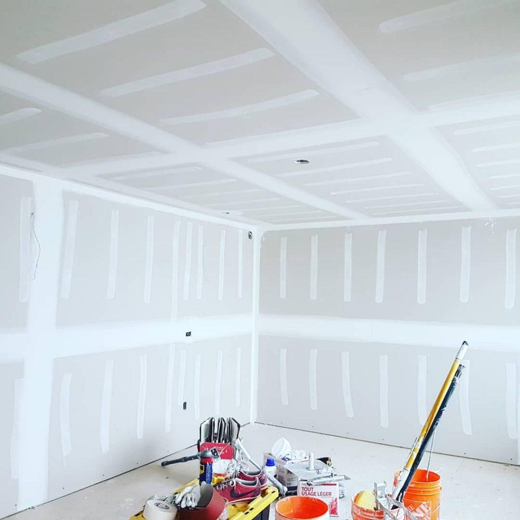 proper drywall installation
