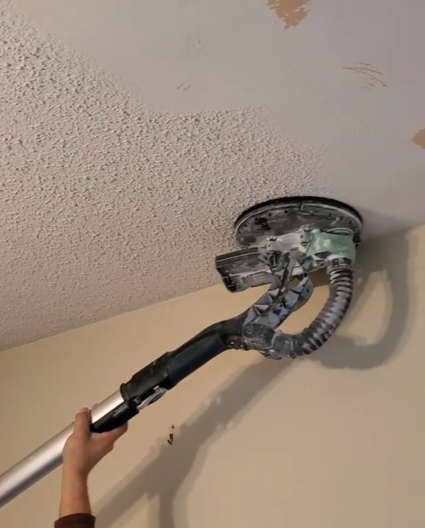 popcorn ceiling removal by carsie drywall toronto